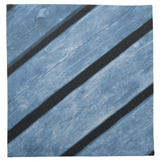 Picture of Blue Wood Planks Napkin