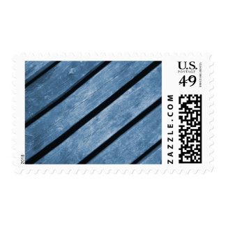 Picture of Blue Wood Planks Stamp