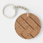 Picture of Bricks. Acrylic Key Chain