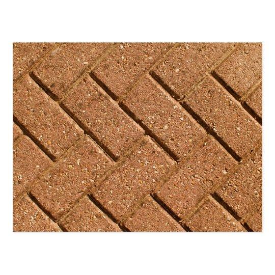 Picture of Bricks. Postcard