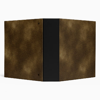 Picture of Brown Leather. 3 Ring Binder