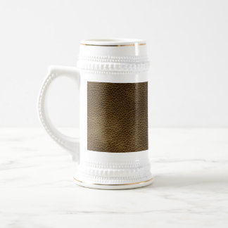 Picture of Brown Leather. Beer Stein