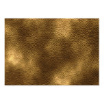 Picture of Brown Leather. Large Business Cards (Pack Of 100)