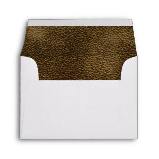 Picture of Brown Leather. Envelope