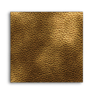 Picture of Brown Leather. Envelopes
