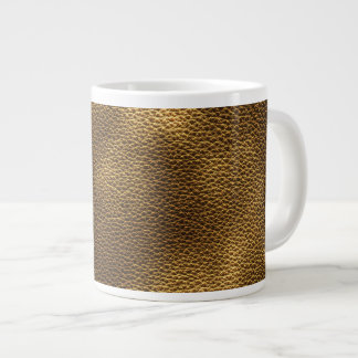 Picture of Brown Leather. Giant Coffee Mug