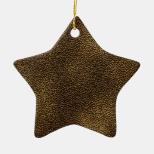 Picture of Brown Leather. Ornament