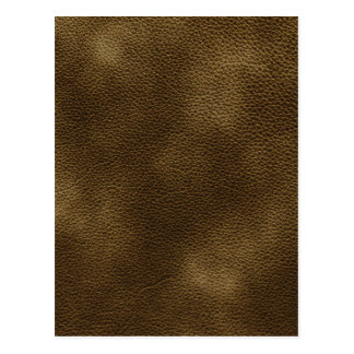 Picture of Brown Leather. Postcard