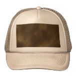 Picture of Brown Leather. Trucker Hat