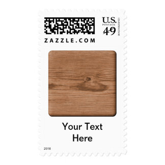 Picture of Brown Wood. Postage