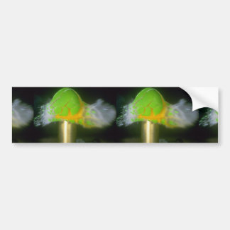 Picture of Bullet impact, egg Car Bumper Sticker
