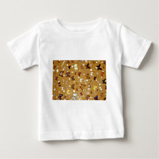 Picture of Butterflies on sand with shells Tees