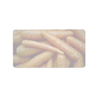 Picture of Carrots Address Label