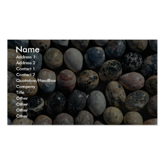 Picture of Carved mineral eggs Business Card Template