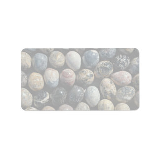 Picture of Carved mineral eggs Custom Address Label
