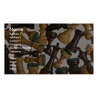 Picture of Chess pieces Double-Sided Standard Business Cards (Pack Of 100)