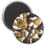 Picture of Chess pieces Fridge Magnets