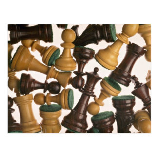 Picture of Chess pieces Postcard