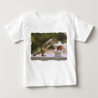 Picture of Chipmunk with China Teacup Baby T-Shirt