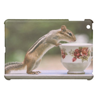 Picture of Chipmunk with China Teacup Case For The iPad Mini