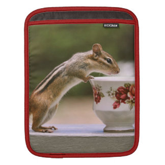 Picture of Chipmunk with China Teacup Sleeve For iPads
