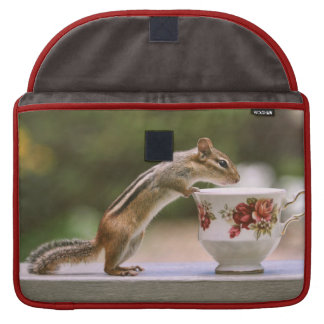 Picture of Chipmunk with China Teacup Sleeves For MacBooks