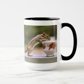 Picture of Chipmunk with China Teacup Mug