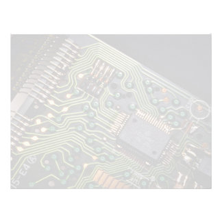 Picture of Circuit board from pocket calculator Letterhead