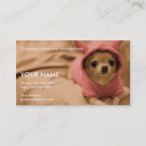 Picture of Cute Chihuahua Business Card