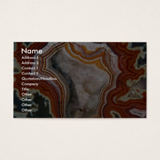 Picture of Dryhead agate Business Card