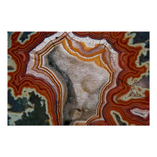 Picture of Dryhead agate Poster
