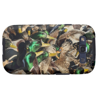 Picture of Ducks in a Crowd Samsung Galaxy SIII Cases