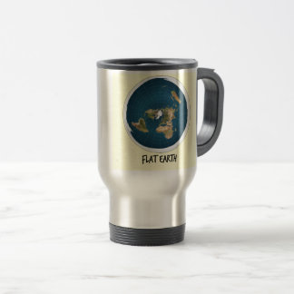 Picture Of Flat Earth Travel Mug