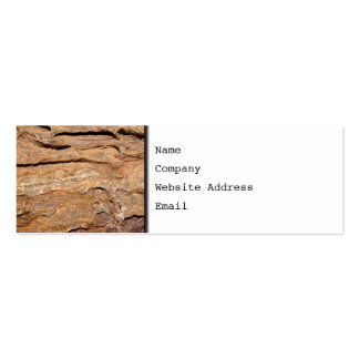 Picture of Fossilized Wood Business Card