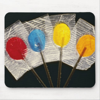 Picture of Four colorful lollipops Mouse Pad