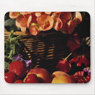 Picture of Fruit and flowers Mouse Pad