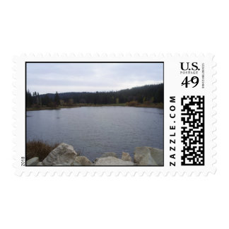 Picture of Grass Valley Lake Postage Stamp