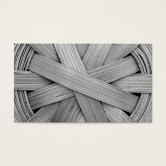 Picture of Gray Basket. Business Card