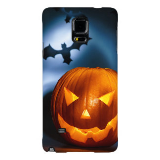 Picture Of Halloween Holiday Background, Carved Galaxy Note 4 Case