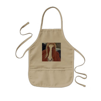 Picture of Horses - A horse with beautiful mane Kids' Apron