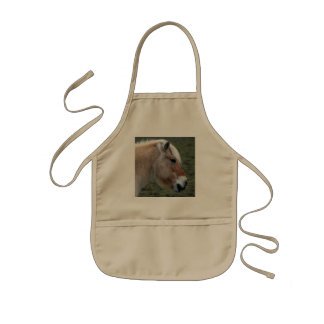 Picture of Horses - A Young Wild Horse Kids' Apron