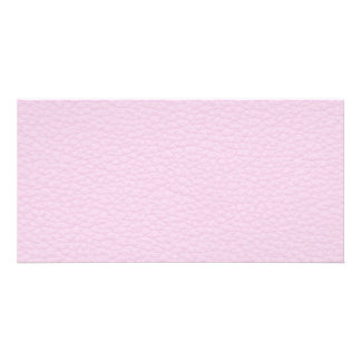 Picture of Light Pink Leather. Card