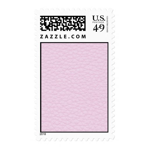 Picture of Light Pink Leather. Postage Stamps