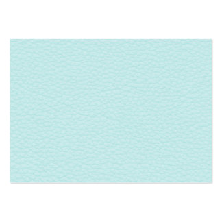 Picture of Light Turquoise Leather. Large Business Cards (Pack Of 100)