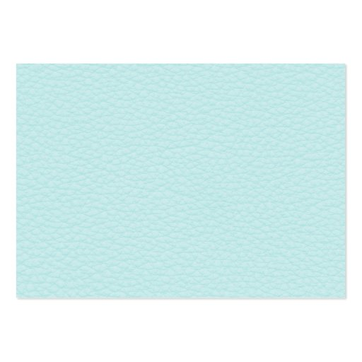 Picture of Light Turquoise Leather. Business Cards