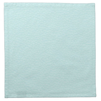 Picture of Light Turquoise Leather. Cloth Napkin