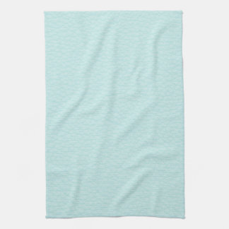 Picture of Light Turquoise Leather. Kitchen Towel
