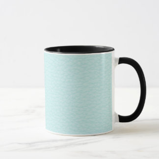 Picture of Light Turquoise Leather. Mug