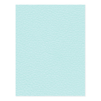 Picture of Light Turquoise Leather. Postcard