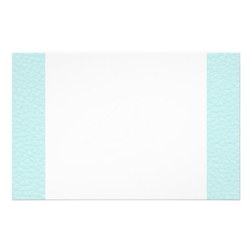 Picture of Light Turquoise Leather. Stationery